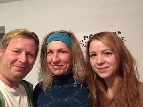 A Vekker vendége volt Lengyel Krisztina jóga és nordic walking oktató