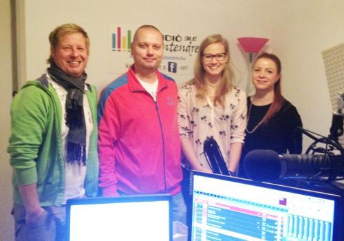 A Vekker vendége volt Békesi Karina, ifjúsági magyar bajnok ökölvívó