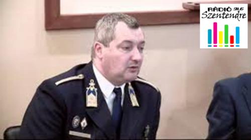 Kovács László rendőrfőkapitánnyal beszélgettünk