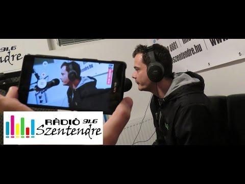 MC DC Veres Robi rap live @ Rádió Szentendre Fm 91,6 2016.02.26