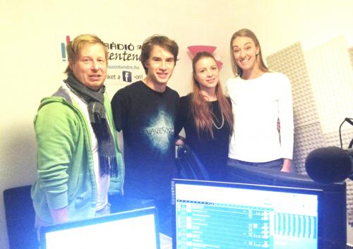 A Vekker vendége volt Jelena Krivacovic és Székely Balint, OMSZK Tenisz Klub
