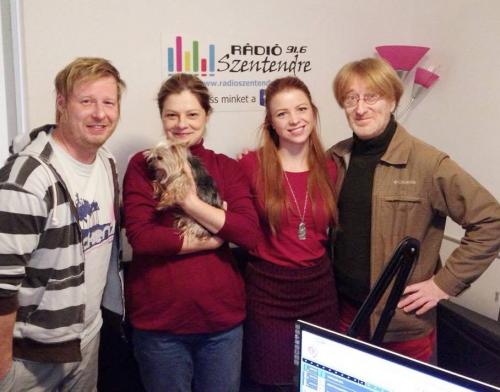 Szászi Móni & Pethő Zsolt voltak a Vekker című reggeli műsor vendégei