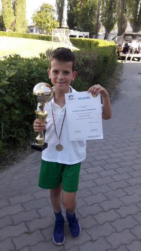 A szentendrei Zauer Márton a Danone Nations's Cup 2017-es világdöntőjében