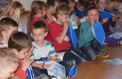 Óvodásoknak tartott játékos képzést a DMRV Zrt.
