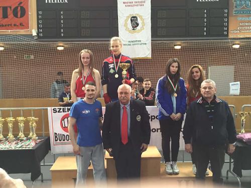 Magyar bajnok lett a szentendrei Békési Karina