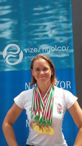 Szentendrei sikerek az úszó szenior versenyen