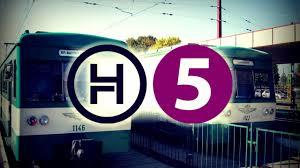 Változás lesz hétvégén a H5-ös HÉV vonalán
