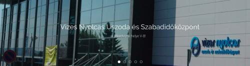 Feltörekvő Fürdők címére pályázik a szentendrei V8 Uszoda