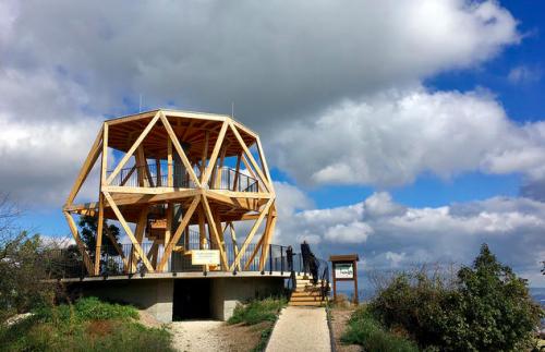 Újrafestés miatt lezárják a hármashatár-hegyi kilátópontot