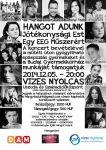 HANGOT ADUNK! – Schwartz Dávid jótékonysági koncertet szervez