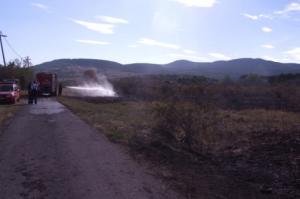 A tilalom ellenére gyújtott tüzet