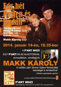 Makk Károly, filmrendező Szentendrén!