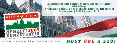 Nemzeti konzultáció - Pilisvörösváron