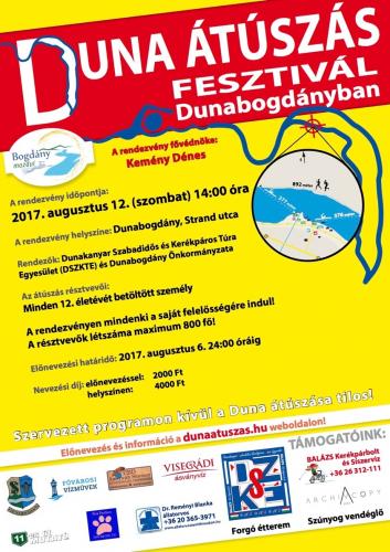 Duna-átúszás Dunabogdányban
