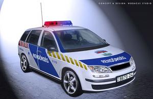 Fokozott rendőri ellenőrzés Pest megyében