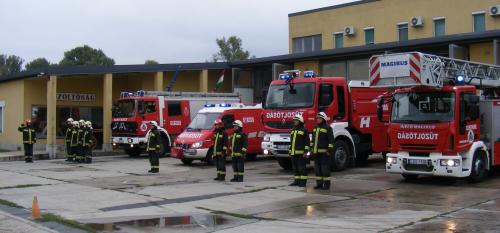 Ma van a tűzoltók napja.