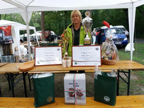 Vadgasztronómiai díjakat nyert a Pilisi Parkerdő Zrt. csapata
